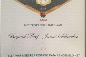 Wagyu SA – 2018 Awards